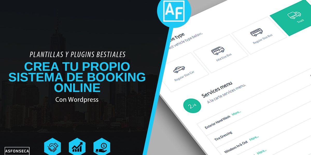 Crea tu propio sistema de booking online alex fonseca - Crea tu cocina online ...