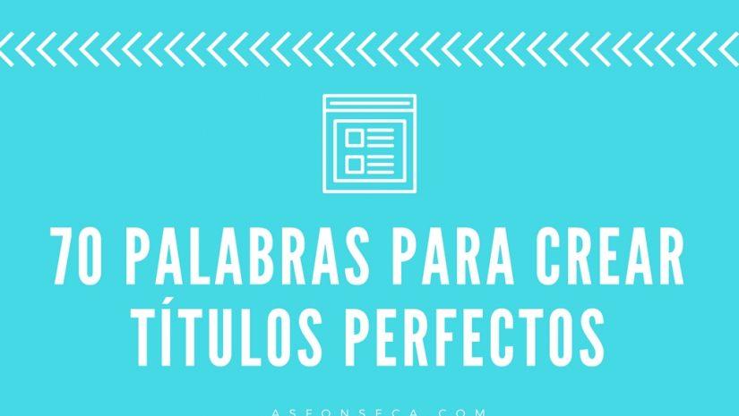 palabras crear el titulo perfecto