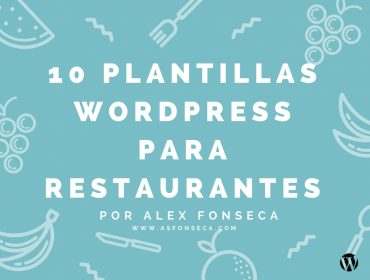 plantillas wordpress restaurantes