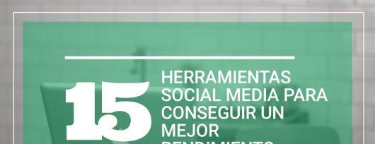 15 herramientas social media