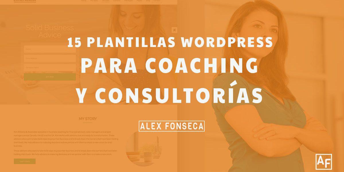 15 mejores plantillas Wordpress para Consultoría y Coaching - Alex ...