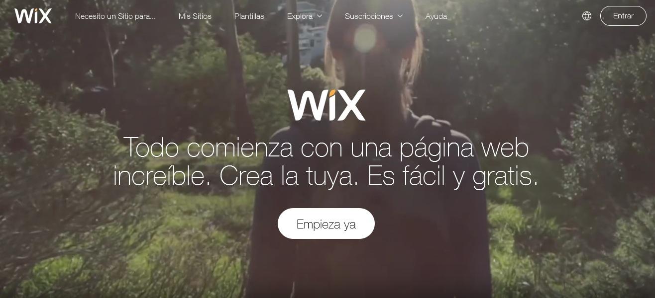 wix inicio