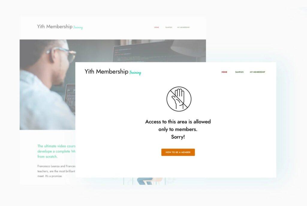 Yith WooCommerce Membership