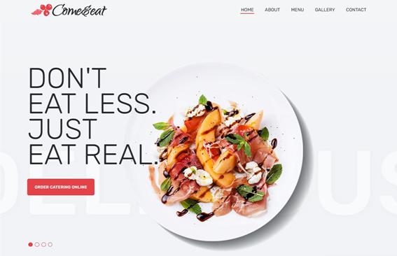 plantillas WordPress para cafeterías
