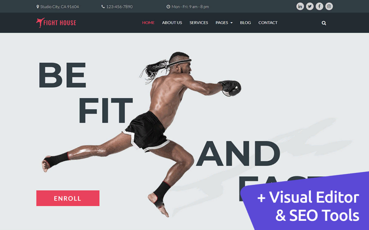 plantillas WordPress para deportes